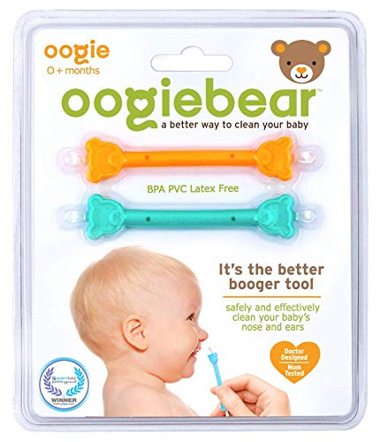 oogiebear - The Safe Baby Nasal Booger and Ear Cleaner (pack of 2) - Preggy Plus