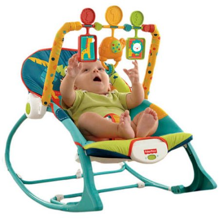 Fisher Price Infant To Toddler Rocker (with musical toy) - Safari - Preggy Plus