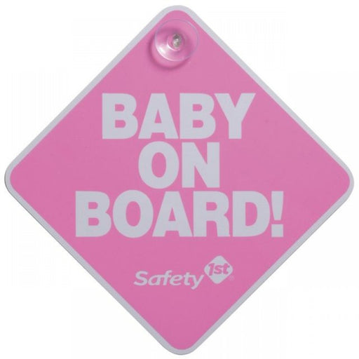 Safety 1st Baby On Board Sign - Preggy Plus