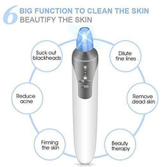 Vacuum Pore Cleaner Blackhead Remover Comedo Suction Tool Acne Extractor - Trendy Outdoor Deals Store