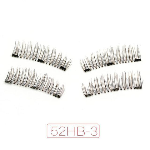 Grad A Magnetic Lashes 100% Natural Handmade - trendyoutdoordealsstore.com