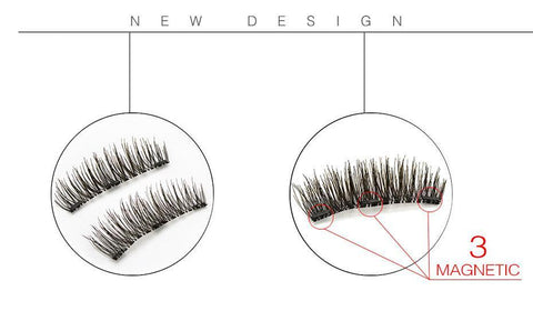 Grad A Magnetic Lashes 100% Natural Handmade - Trendy Outdoor Deals Store