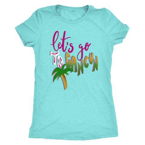 Let's Go to Cancun 2019 Spring Break Vacation T-shirt
