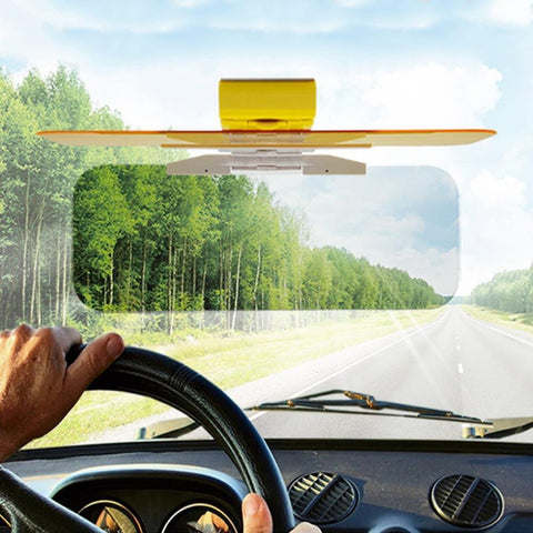 HD CAR ANTI-GLARE DAY & NIGHT VISION DRIVING VISOR - Trendy Outdoor Deals Store
