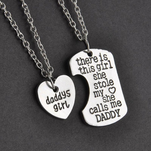 HEART LOVE NECKLACE(DAD,MOMMY,GRANDMA &GRANDPA) - Trendy Outdoor Deals Store