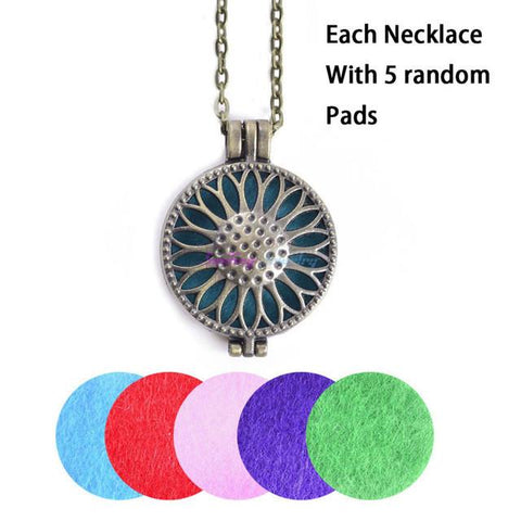 ELEGANT ESSENTIAL OIL DIFFUSER NECKLACES - Trendy Outdoor Deals Store