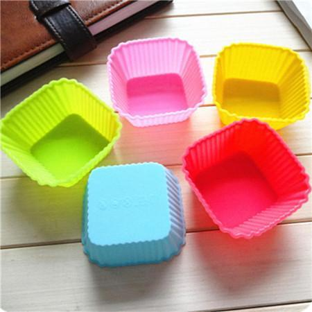 Silicone Baking Cups: Re-Usable Cupcake & Muffin Liners - Assorted Colors - Trendy Outdoor Deals Store