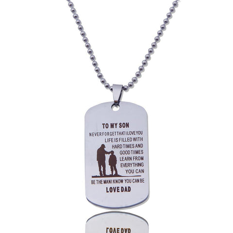 TO MY SON NECKLACE - Trendy Outdoor Deals Store
