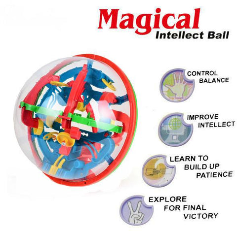 3D  Magic Rolling Globe Ball  Brain Teaser - Trendy Outdoor Deals Store
