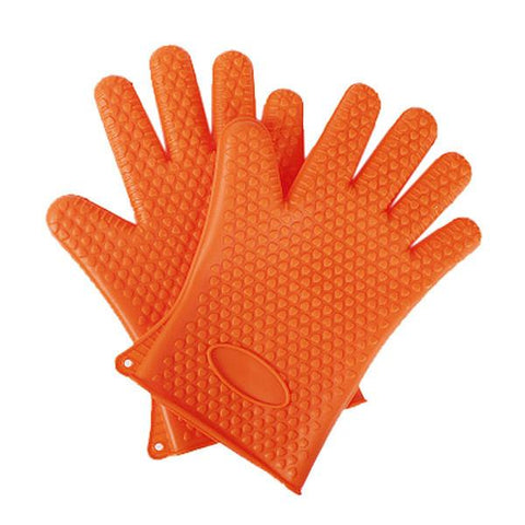 Silicone Heat Resistant Gloves - Trendy Outdoor Deals Store
