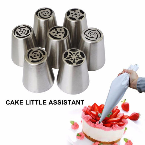 CAKE DECORATING NOZZLE SET - Trendy Outdoor Deals Store