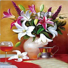 Beautiful Flower Collection Diamond Painting Kit