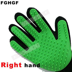 True Touch Pet Glove Five-Finger Deshedding Glove