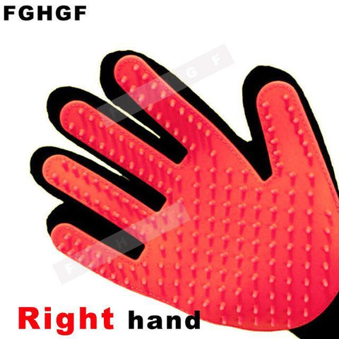True Touch Pet Glove Five-Finger Deshedding Glove - Trendy Outdoor Deals Store