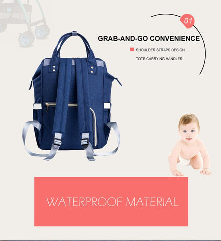 Fashion Mummy Maternity Nappy Bag - Trendy Outdoor Deals Store