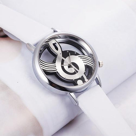 Unique Hollow Musical Note WristWatch - Trendy Outdoor Deals Store