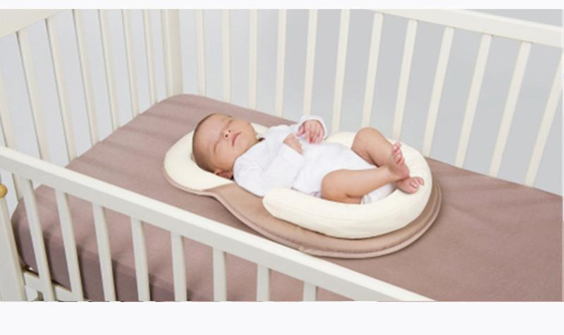 Newborn Anti Rollover Mattress Cushion Baby Sleep Positioning Pad