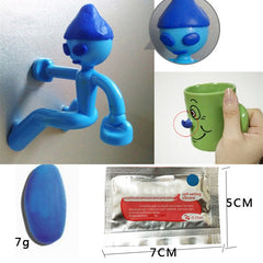 MAGIC MOLDABLE GLUE THAT TURNS INTO DURABLE SILICONE RUBBER