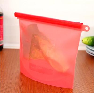 Reusable Silicone Vacuum Food Fresh Bags