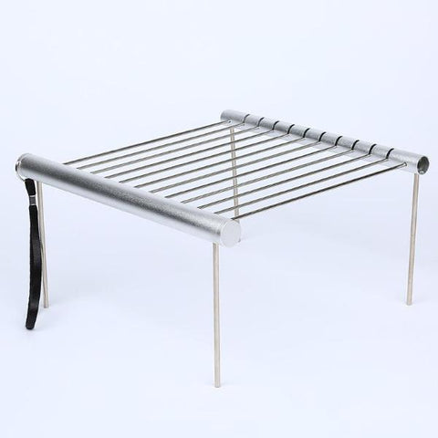 Stainless Steel Folding BBQ Grill