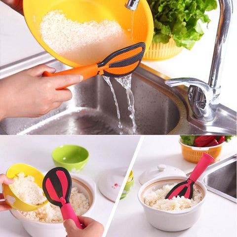 Non-stick Rice Spoon and Egg beater Kitchen tool - Trendy Outdoor Deals Store