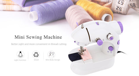 Mini Sewing Machines Dual Speed Double Thread
