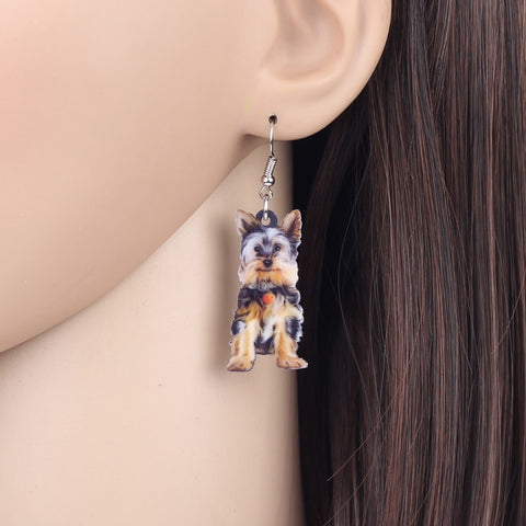Smiley Schnauzer Earrings