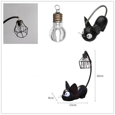 CUTE BLACK CAT NIGHT LIGHT LAMP - Trendy Outdoor Deals Store