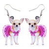 Image of Adorable Chihuahua Dog Earrings