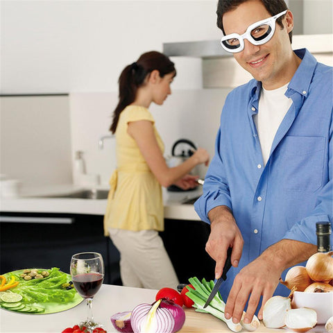 Multifunctional Kitchen Cuting Onion Protective Glasses - Trendy Outdoor Deals Store