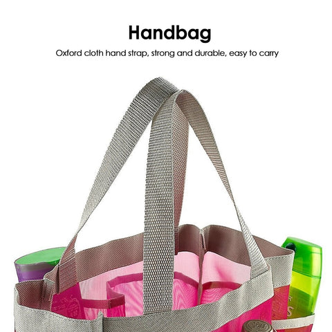 Portable Quick Dry Shower Caddy Tote Bag