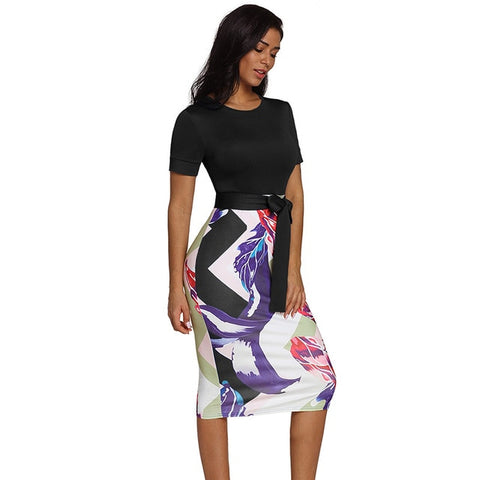 Laurel - Midi Pencil Dress - trendyoutdoordealsstore.com