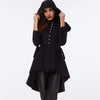 Image of Vintage  Trench Gothic Black Coat