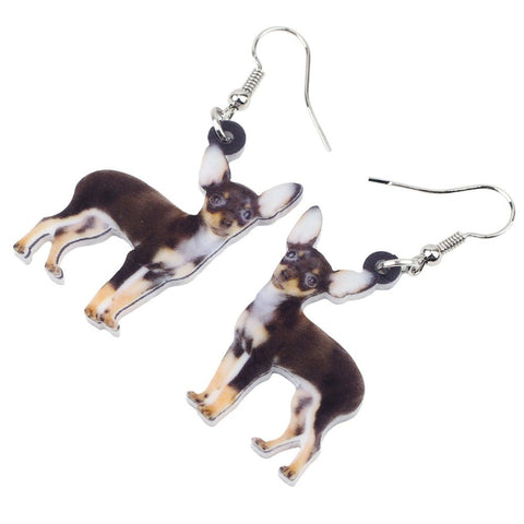 Aww Chihuahua Dog Earrings - trendyoutdoordealsstore.com