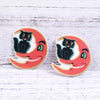 Image of Cat Skull Planar resin Halloween Craft Making