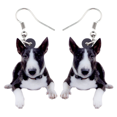 American Pit Bull Terrier Dog Earrings