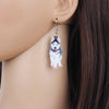 Image of Handsome Siberian Husky Dog Earrings