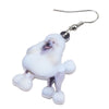 Image of Smile Poodle Dog Earrings