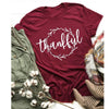 Image of GRATEFUL THANKFUL BLESSED T-SHIRT