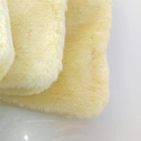 Cars Dual-sided Artificial Wool Cleaning Gloves
