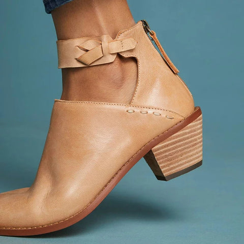 Comfortable Ankle Show  Boots
