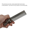 Image of Metal Beard Comb Men Hair Beard Trim Tool
