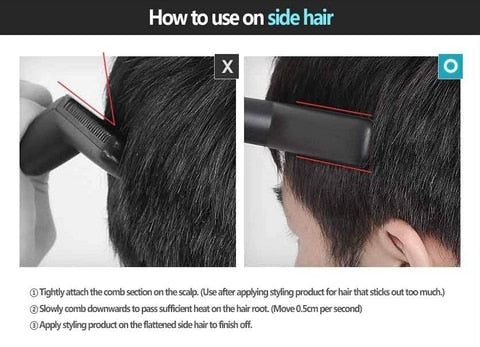 Multi functional  Quick Hair Styler for Men