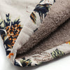 Image of Hooded Floral Print Vintage Coats - trendyoutdoordealsstore.com