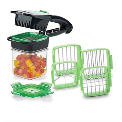 Nicer Quick 5-in-1 Fruit and Vegetable Cutter