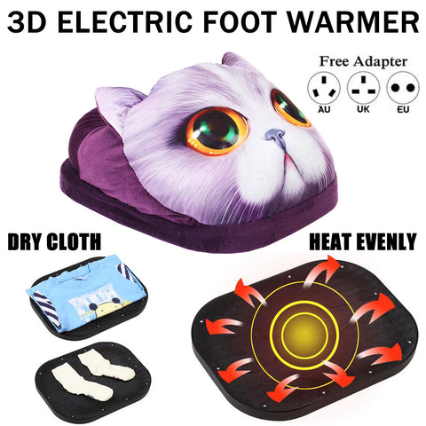 Washable Electric Foot Warmer Heater