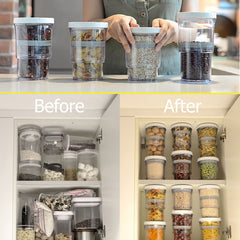 Adjustable Flexible  Food Container Storage