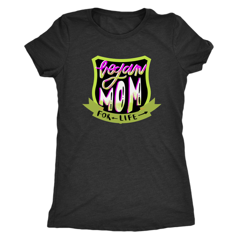 Vegan Mom For Life Vegan Gift T-shirt