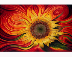 Diamond Embroidery Sunflower Painting Kit