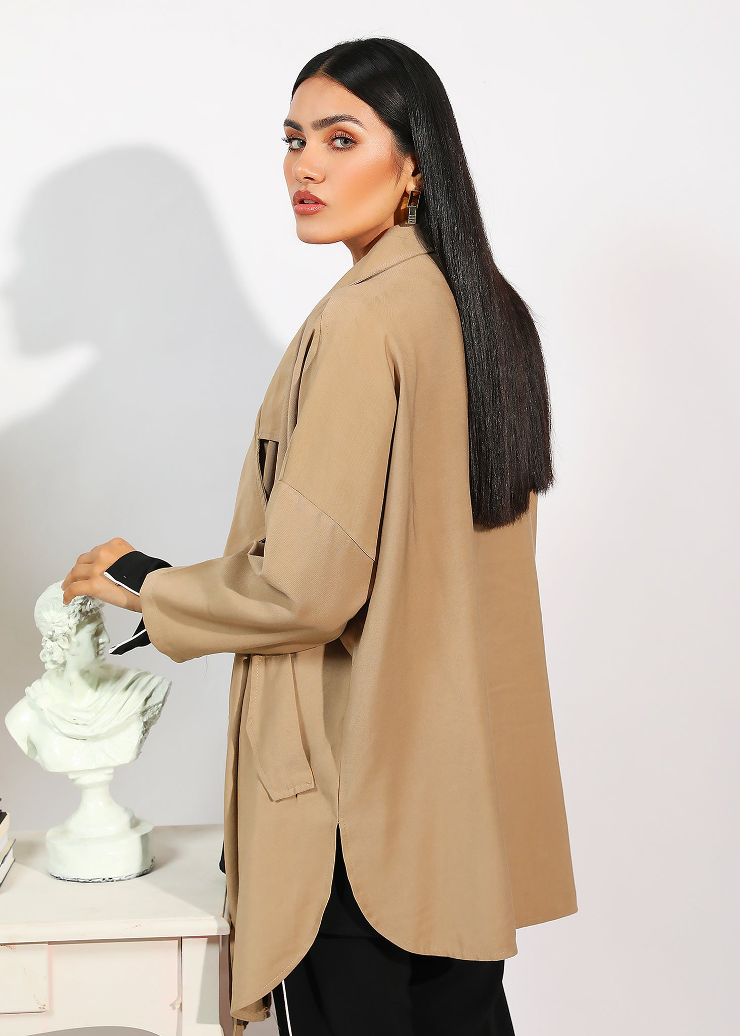 Oversized Khaki Jacket
